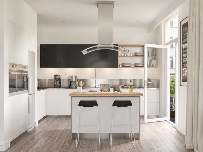 Island Mdular Kitchen Design