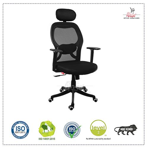 Rose Matrix Mesh High Back Office Chair
