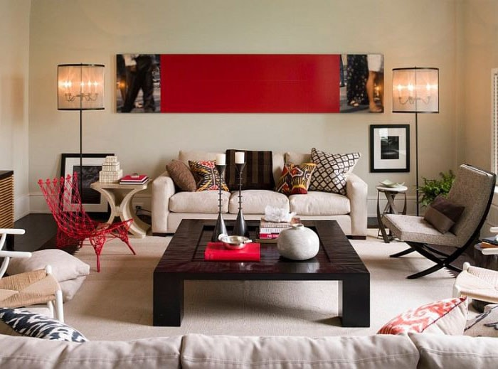 The Luxury Touch in Living Room