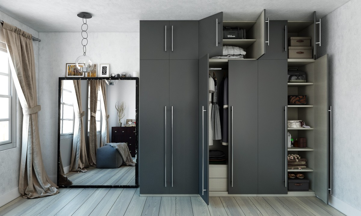 Elevated Cupboard Wardrobe Design