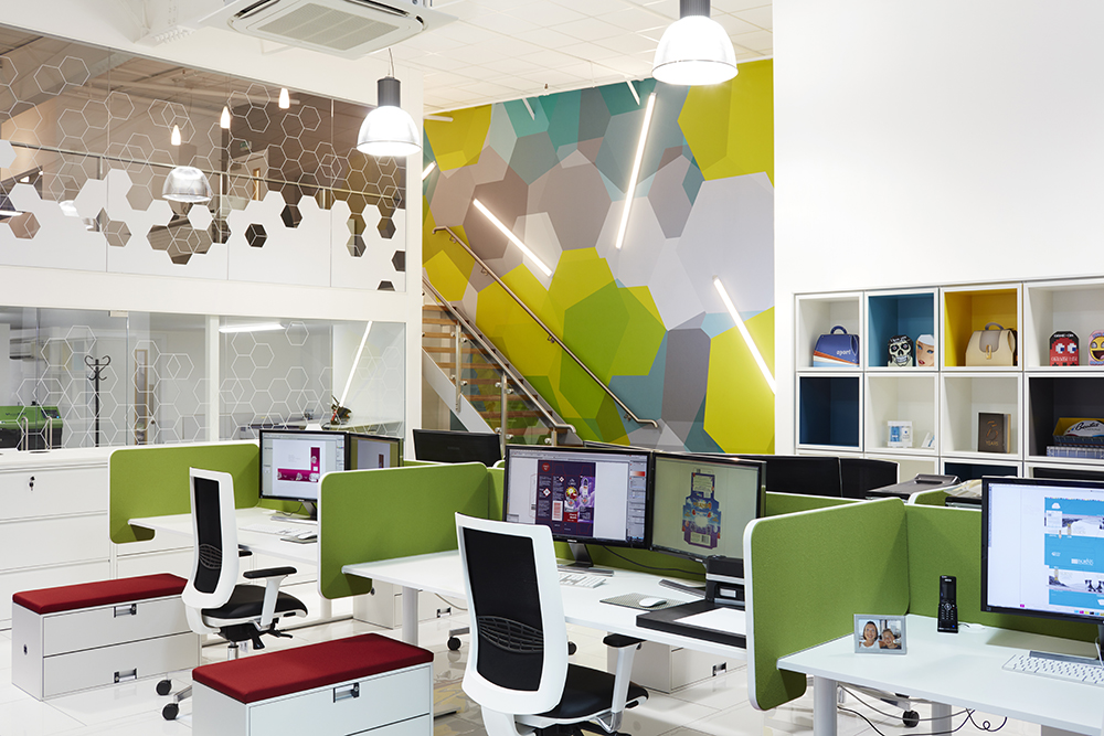 Colourful Office Design