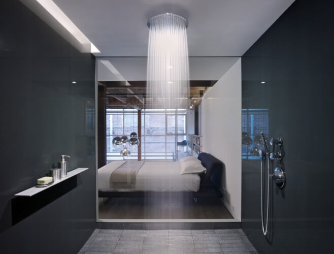 Rain Shower Bathroom