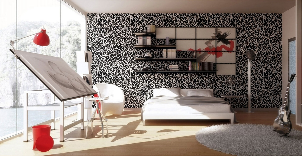 Bedroom Wallpaper Design