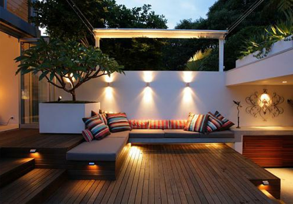 Outdoor Living Space Lighting ideas