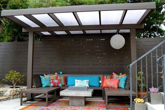 Outdoor Area Privacy by fence work