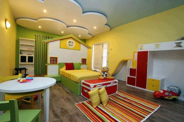 Kids Bedroom False Ceiling