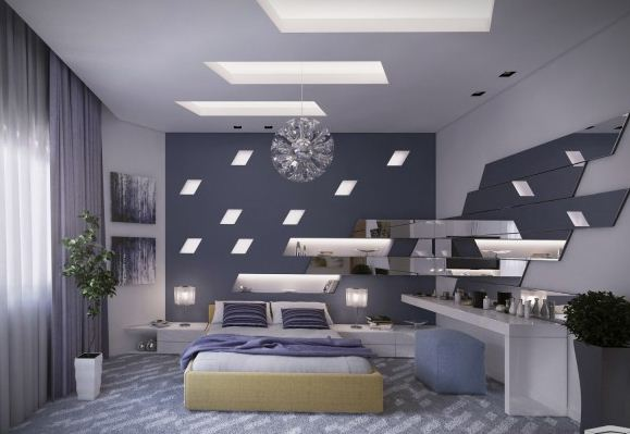 ambient ceiling bedroom lights