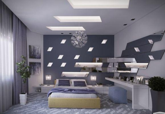 ambient ceiling bedroom lights