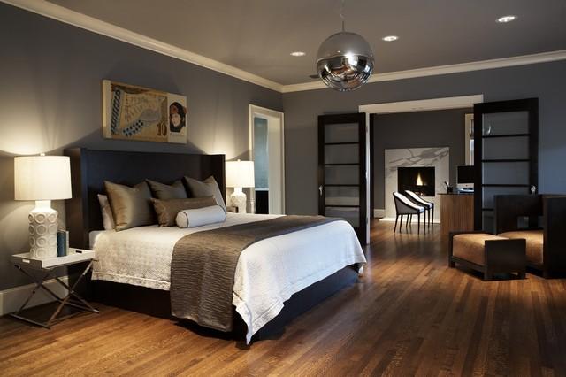 Bedroom Chrome Pendant Light