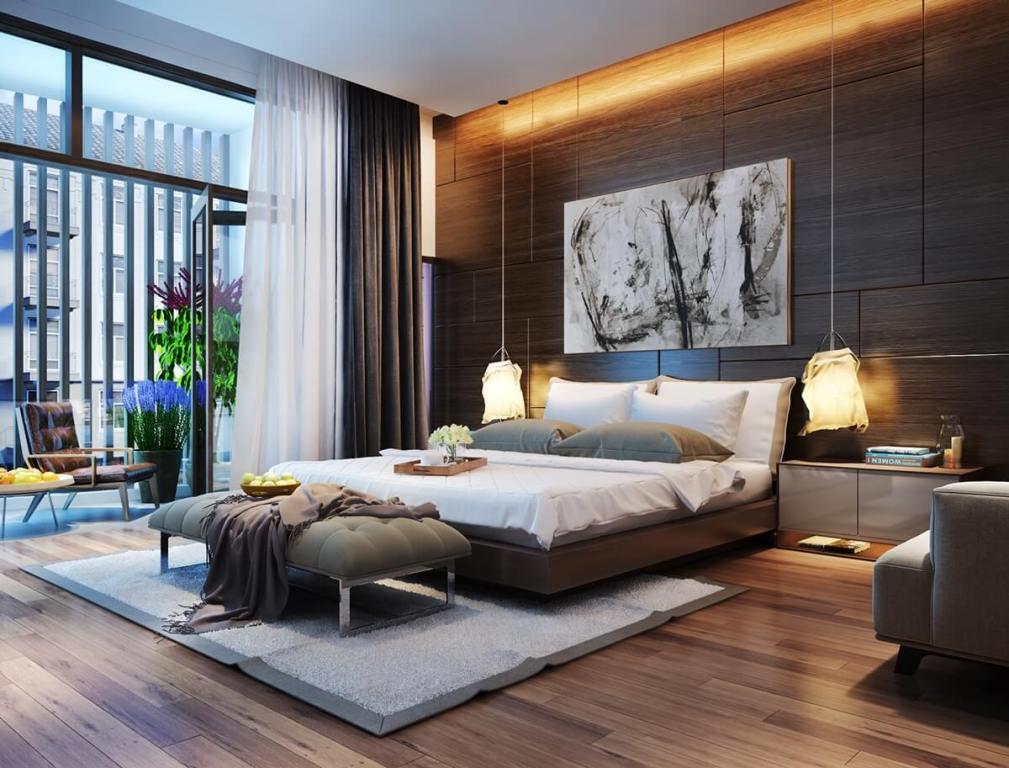 indirect lighting in the bedroom