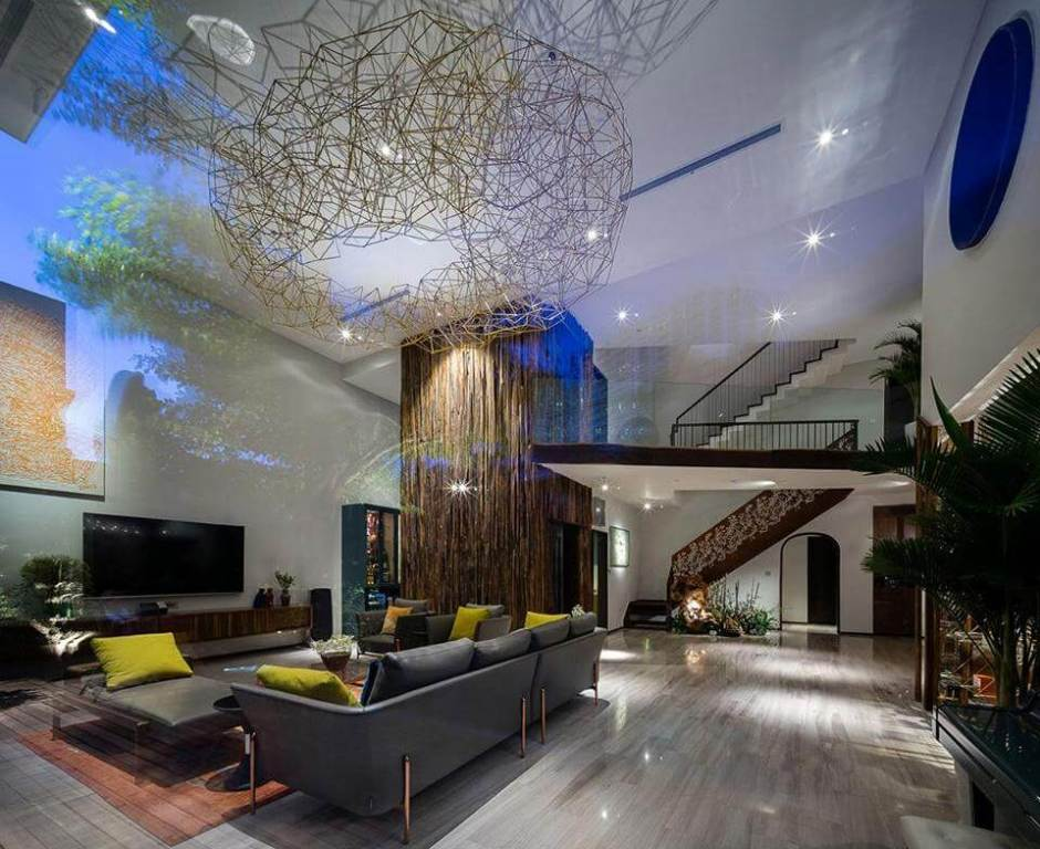 Recessed Lighting is suitable for Common Areas