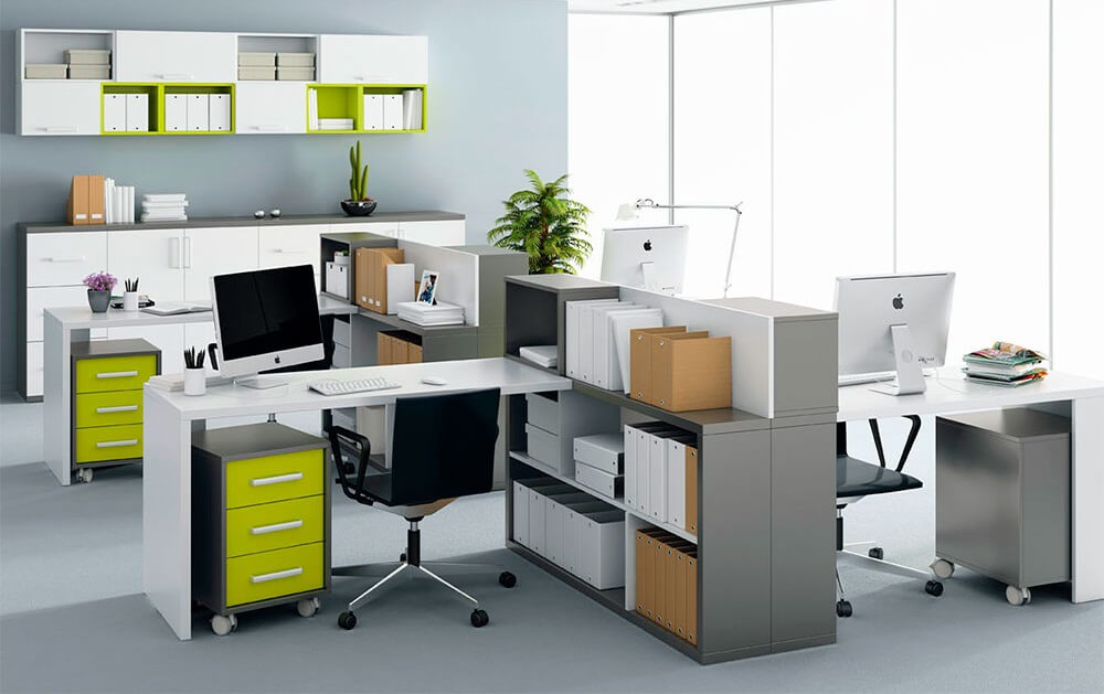 Office Bookshelf Style