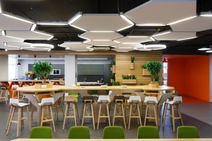 Modern office Cafeteria