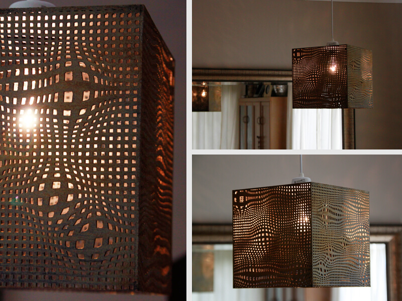 Laser Cutting Lamps
