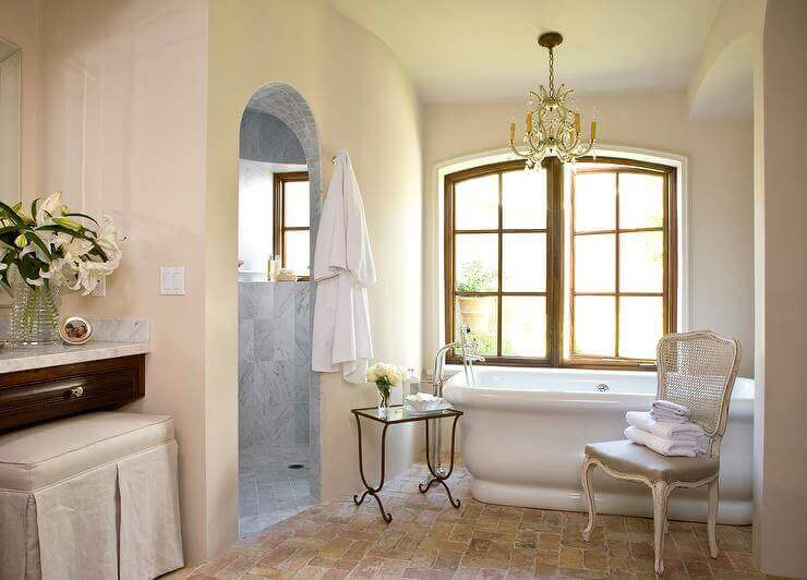 Bathroom Candlestick Chandelier Lighting Ideas