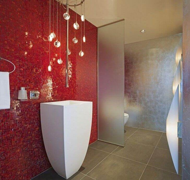 Glittering Bathroom Lighting Ideas
