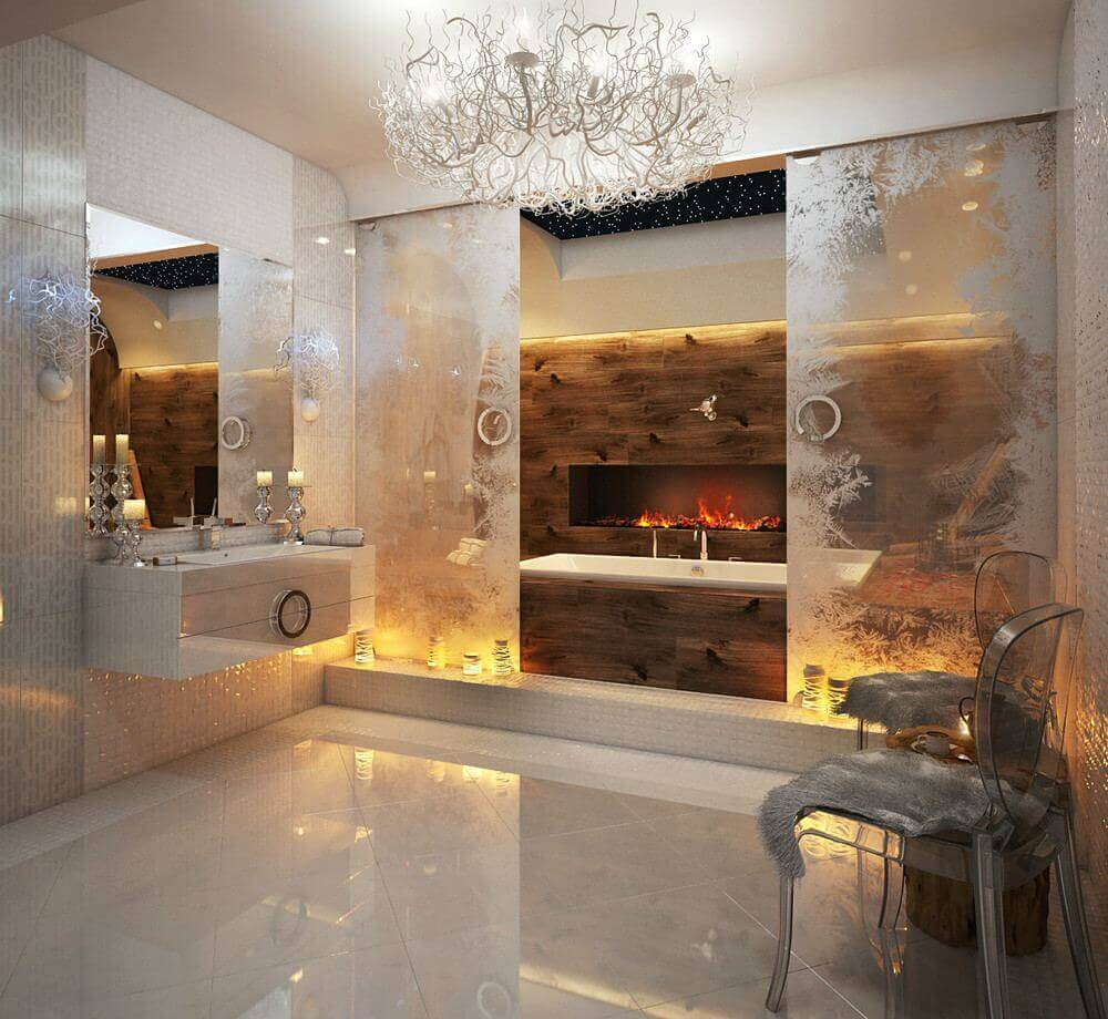 Backlit Bathroom Lighting Ideas