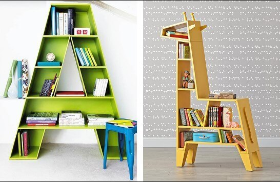 Place a Stunning Bookshelf for Storybooks