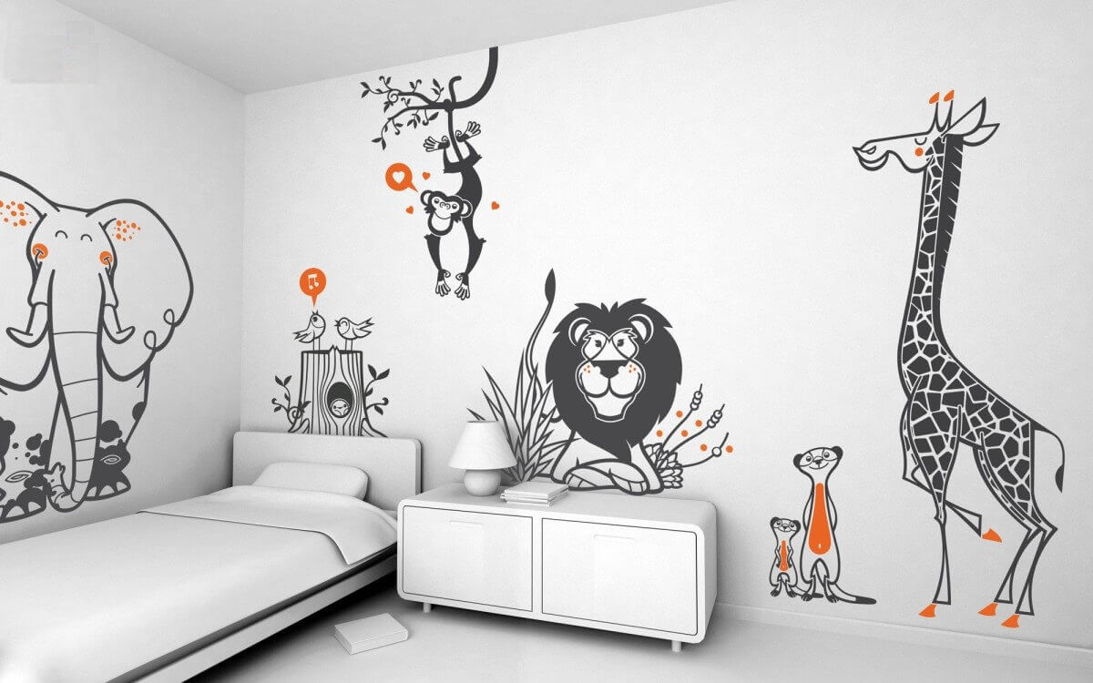 Get Attractive Wall Stickers and Charts