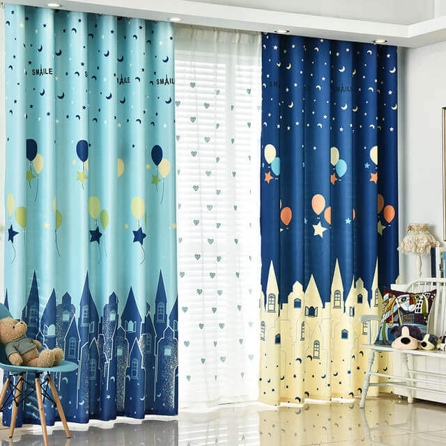 Kids Room Curtains Ideas