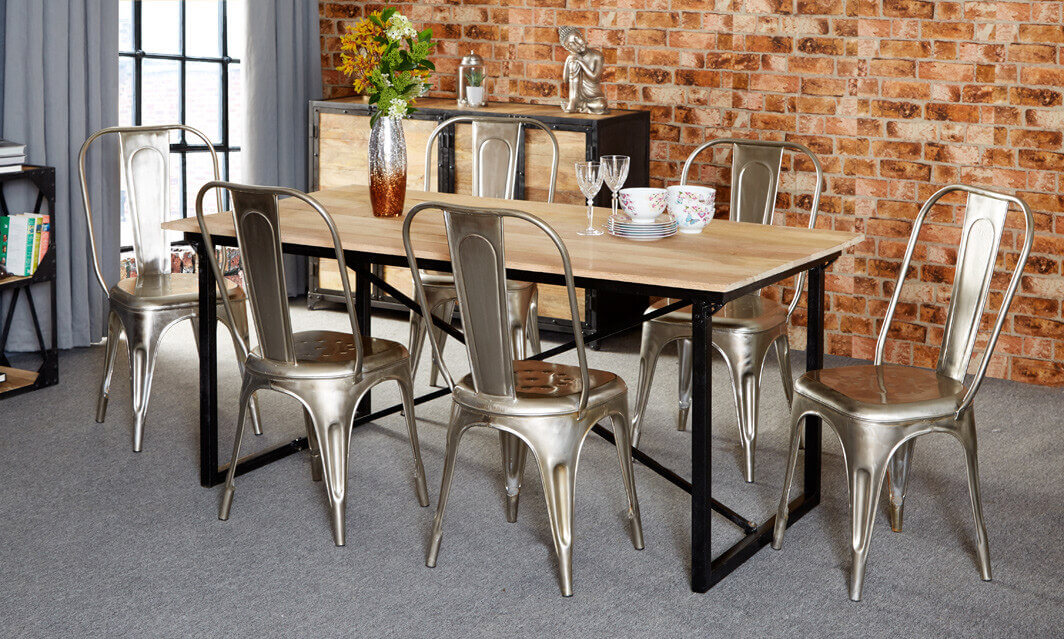 Industrial Dining Table Ideas