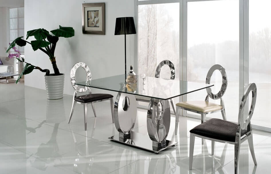 Metal Dining Table Ideas