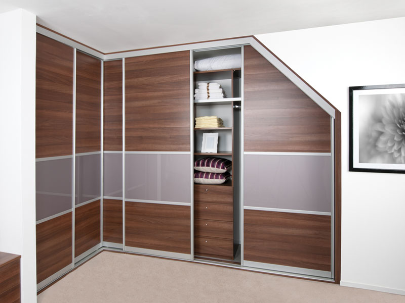 Sloped Wardrobe Ideas