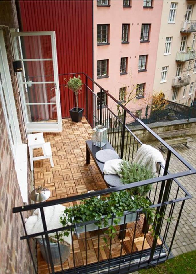 Balcony Floor Pattern Ideas