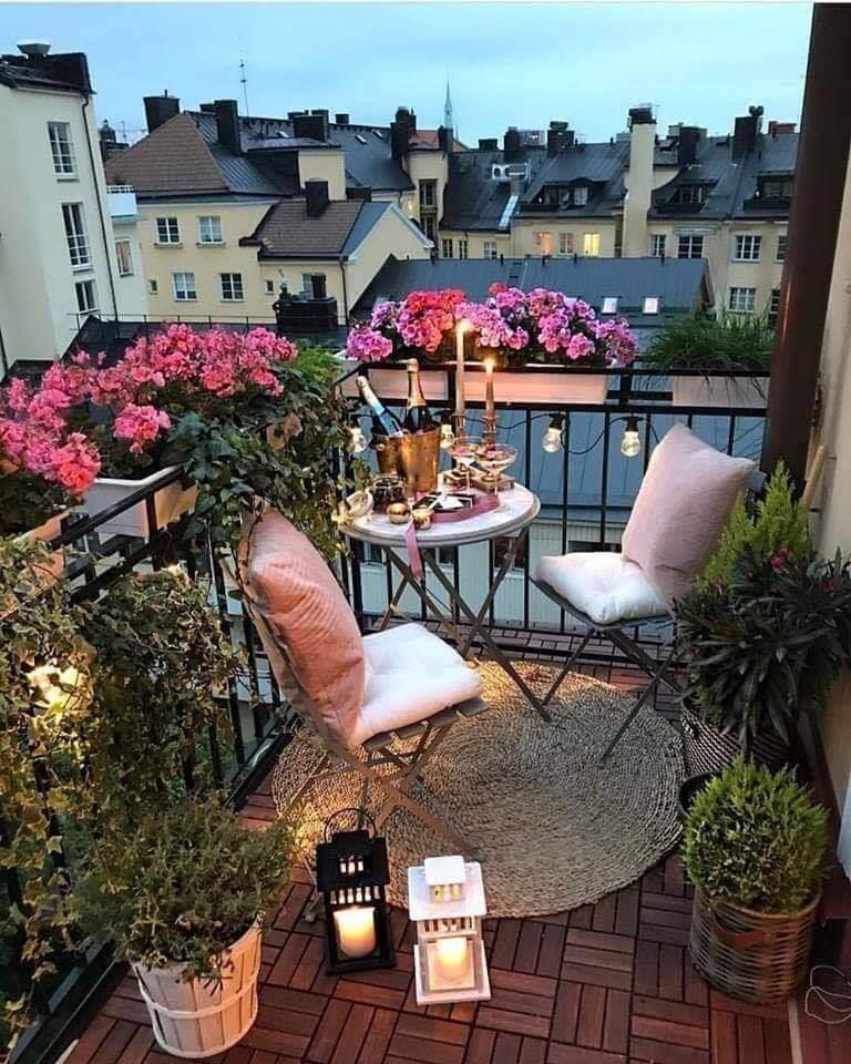 Create Party Spot in Balcony