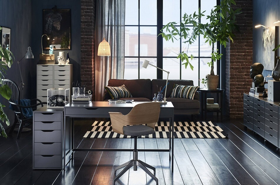 Industrial Home Office Architecture