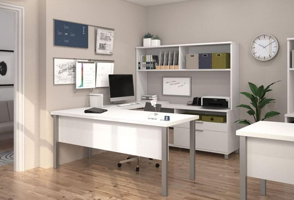 Go with Scandinavian home office