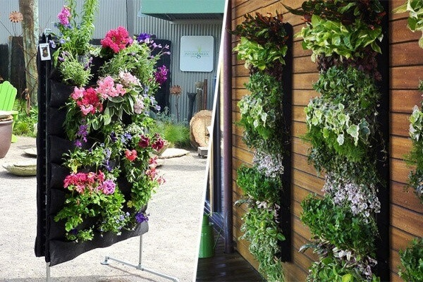 Fabrics Vertical Garden