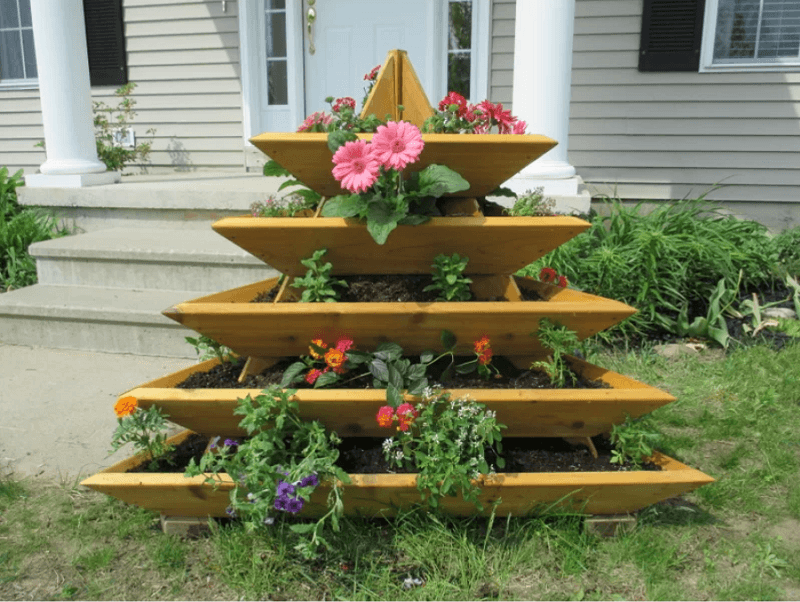 Wood Pyramid