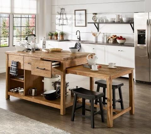 transformable modular kitchen furniture