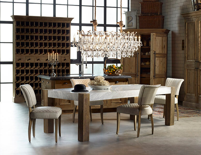 Choose A Bulky Dining Room Chandelier