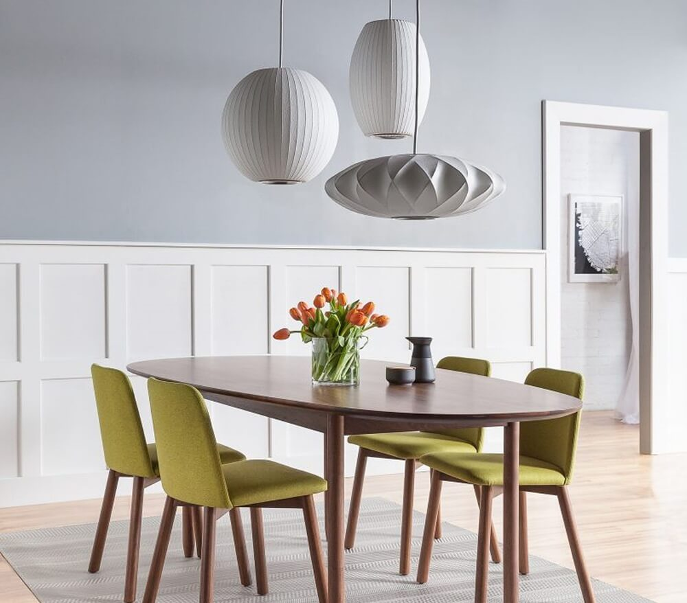 Geometric Shape Light for Dining Room
