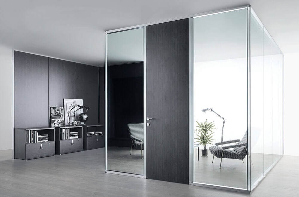 Glass Divider Wall