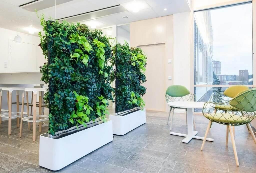 Planters Divider Wall