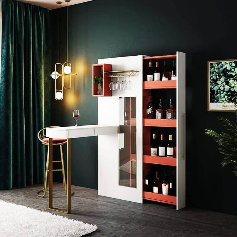 Minibar Design for Living Room