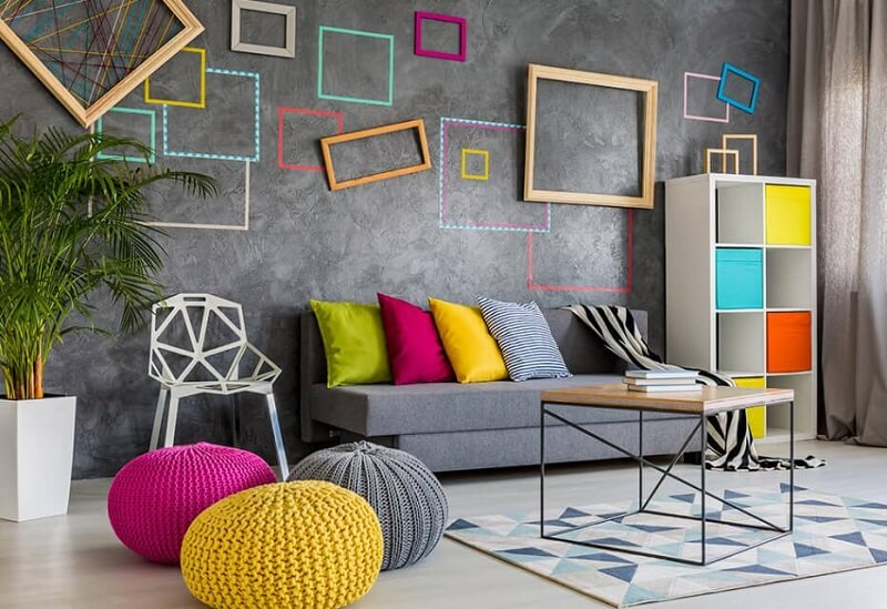 Living Room Wall Painting Ideas