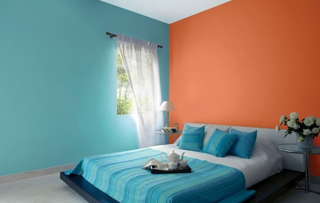 PAINTING IDEAS FOR BEDROOM AND LIVING ROOM