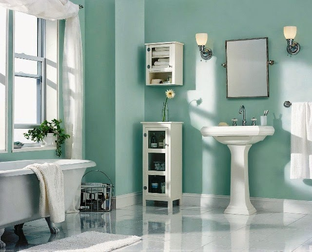 Painting Ideas for Bathroom