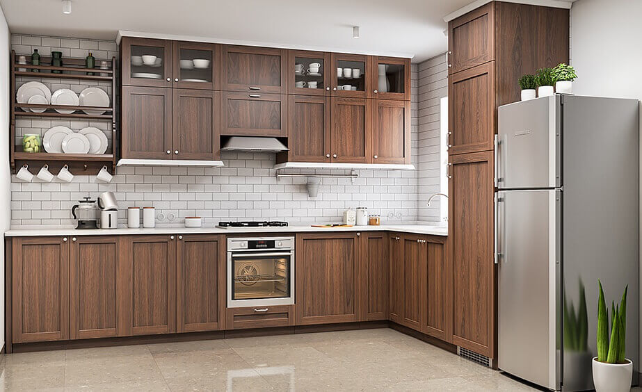 Wood Finish Cabinets