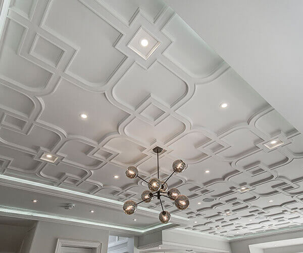 Paint the Trim, Wall, And Ceiling