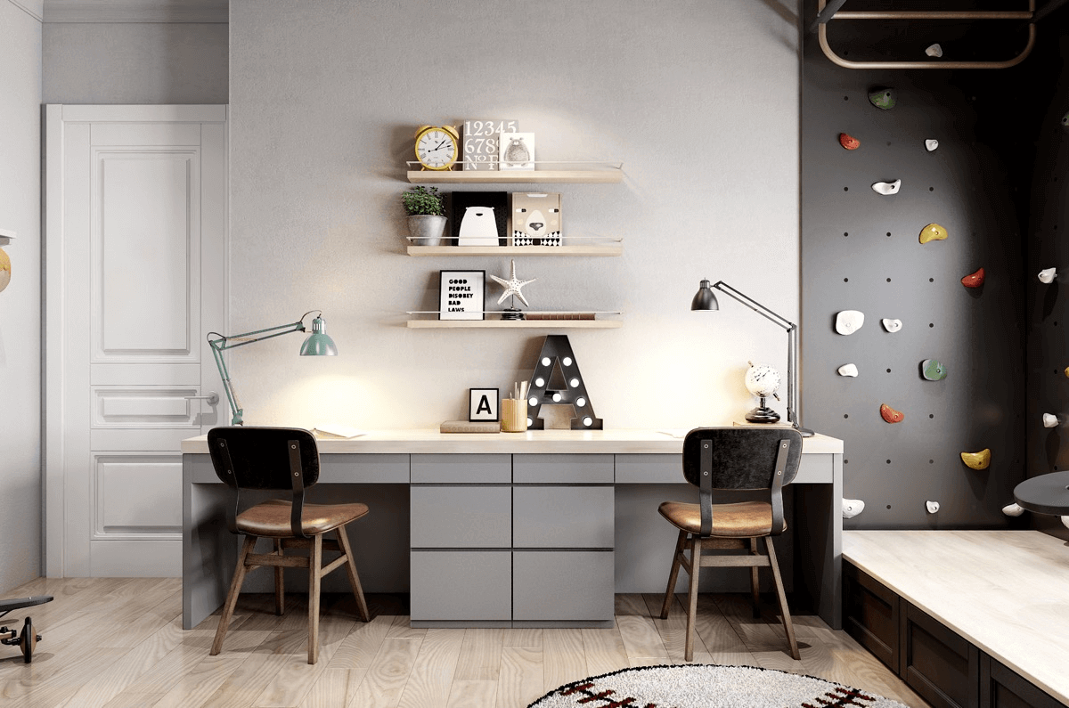 First steps for an ideal study room