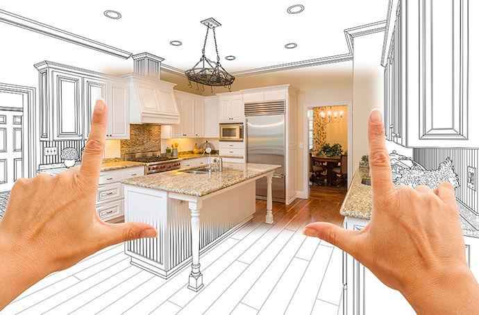 L-Shaped Modular Kitchen Layout