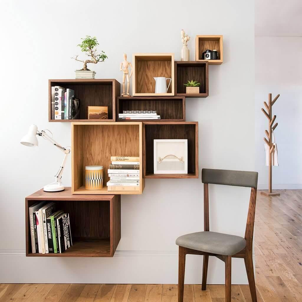 Install Floating Shelves
