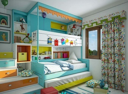 14 Hand-Picked Ideas for Decorating Kids Bedroom