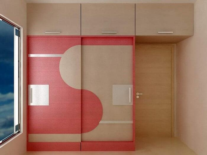 Wardrobe by Arka Interiors and Architecture   KreateCube