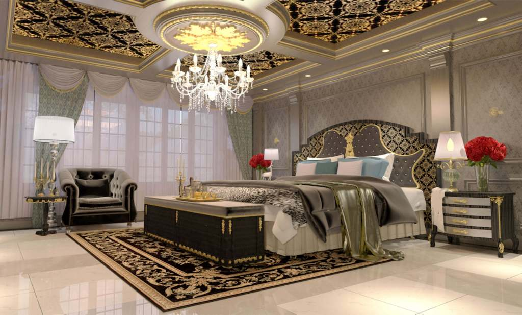 Royal Touch Luxury Bedroom